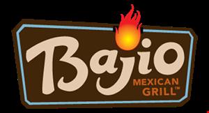 Bajio Mexican Grill logo