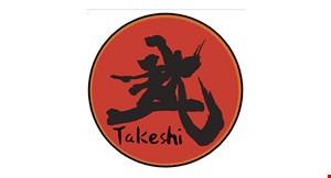 Takeshi Sushi logo