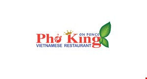 Product image for Pho King Vietnamese Restaurant - Decatur 10% OFF any catering order of $100 or more