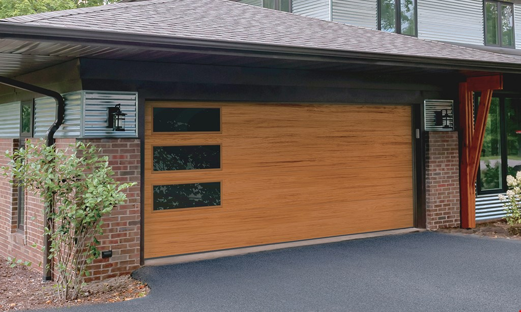 Product image for Garden State Garage Doors $849 Raised Panel 8X7 Fully Insulated With WindowsInstalled with extension springs8 color options