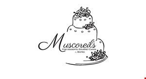 Muscoreil's Fine Desserts, Gourmet Cakes & Bistro logo