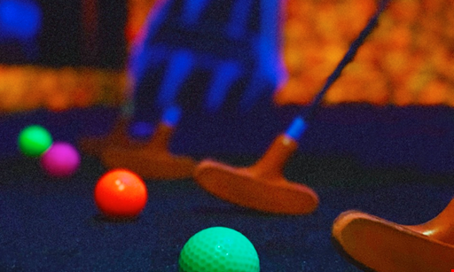 Product image for Monster Mini Golf Free round of golf
