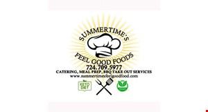 Summertime's Feel Good Foods logo