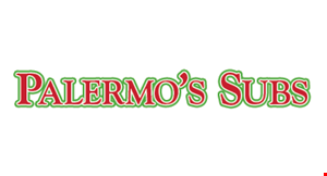 Product image for Palermo's Subs & Pizza $10 For $20 Worth Of Casual Dining (Also Valid On Take-Out W/Min. Purchase $30)