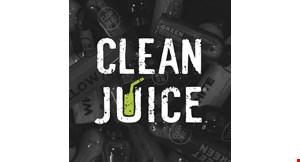 Clean Juice Wynnewood logo