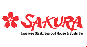 Product image for Sakura Japanese Steak, Seafood House & Sushi Bar HIBACHI SPECIAL 10% OFF Valid Sunday - Friday Only.