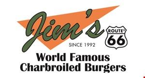 Jim's Burgers logo