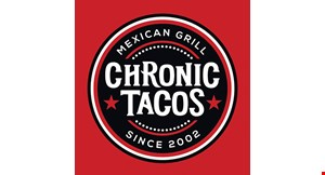 Chronic Tacos Mexican Grill logo