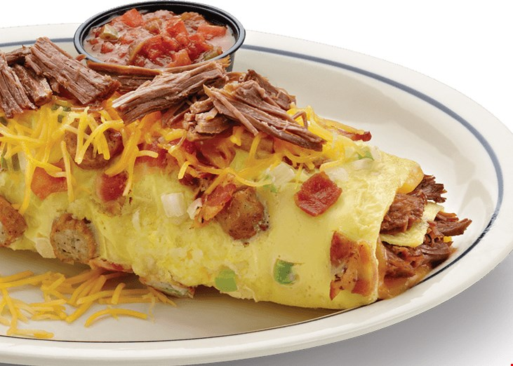 Product image for IHOP 20% off your total check anytime, reg. priced items only