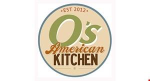 O's American Kitchen - El Cajon logo