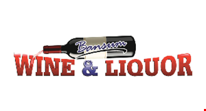 Product image for Bansum Wine & Liquor 11% Off any single liquor item 750ml or larger.