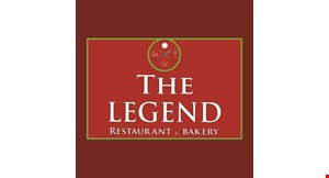 The Legend Restaurant & Bakery logo