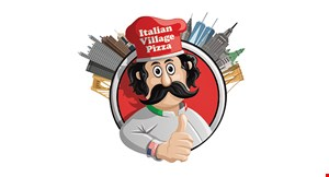 "Product image for Italian Village Pizza $13.99 16"" 12-Cut Large 1-Topping Pizza."