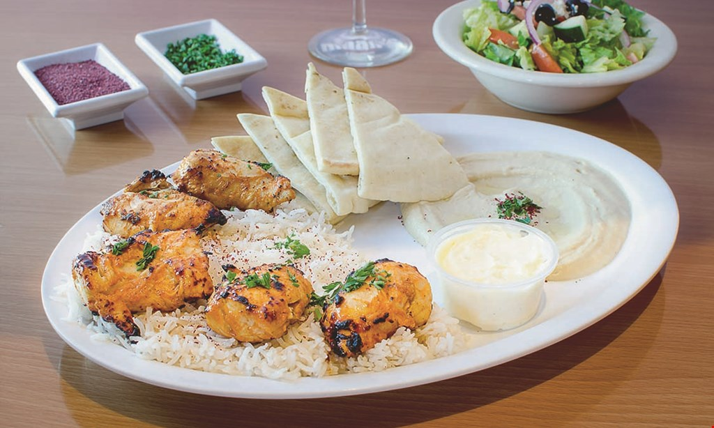 Product image for Maan's Mediterranean Grill 20% OFF any order Max Discount $5.