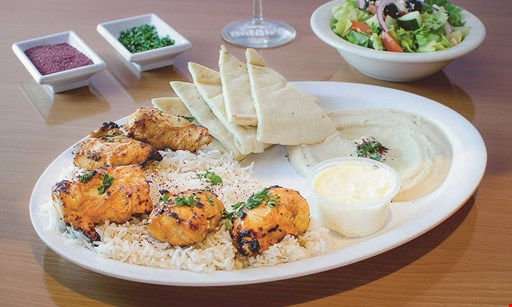Product image for Maan's Mediterranean Grill 20% OFF any order. Max Discount $5.