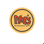 Product image for Moe's Southwest Grill - Patchogue BUY ONE entrée, GET ONE FREE with the purchase of 2 LARGE DRINKS.