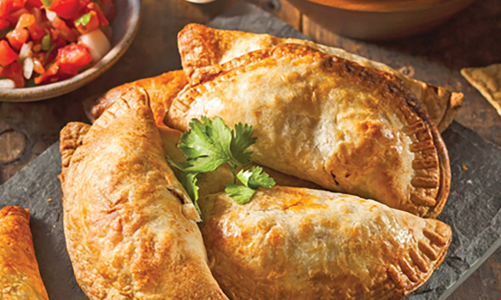 Product image for Island Empanada EMPANADAS BUY 2 GET 1 FREE of equal value • pick-up only.