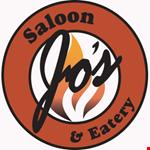 Jo's Saloon & Eatery logo