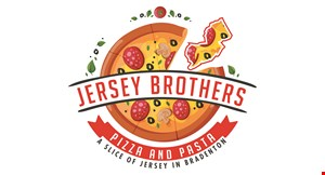 Jersey Brothers Pizza and Pasta logo