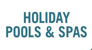 Holiday Pools & Spas logo