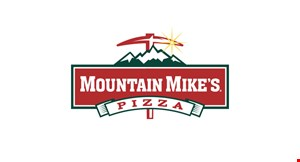 Product image for Mountain Mike's Pizza $4 off any large pizza.