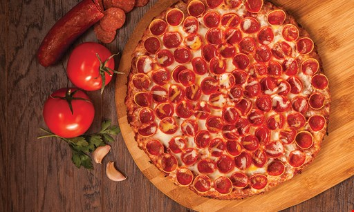 Product image for Mountain Mike's Pizza 50% OFF 1-TOPPING PIZZA