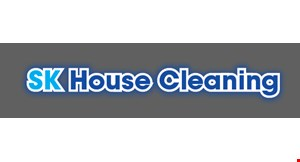 S K House Cleaning logo