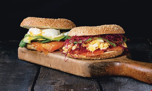 Product image for Stonebridge Bagels & Deli $8.99 sandwich, chips & soda. $10.99 specialty sandwiches. .