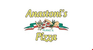 Product image for Anastoni's Pizza $20 off any purchase