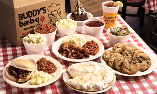 Product image for Buddy's Bar-B-Q FREE 4 Piece Wing with the purchase of an entree