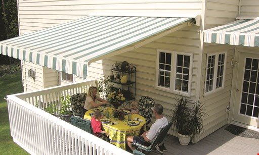 Product image for Sunair Awnings & Solar Screens Up To $350 off a Sunair or Suntube Lateral Arm Awning