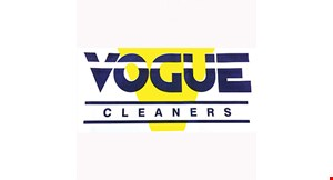 Vogue Cleaners logo