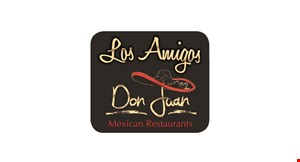 Product image for Don Juan &  Los Amigos 1/2 Off lunch entree