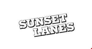 Sunset Lanes logo