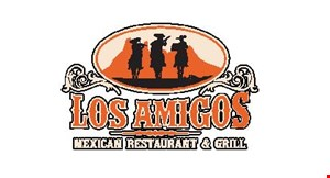 Product image for Los Amigos $5 OFF any purchase of $40 or more. DINE IN ONLY. EXCLUDES TO GO ORDERS, DOES NOT INCLUDE TAX OR ALCOHOL.
