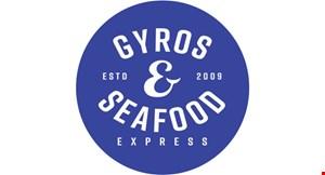 Gyros & Seafood logo