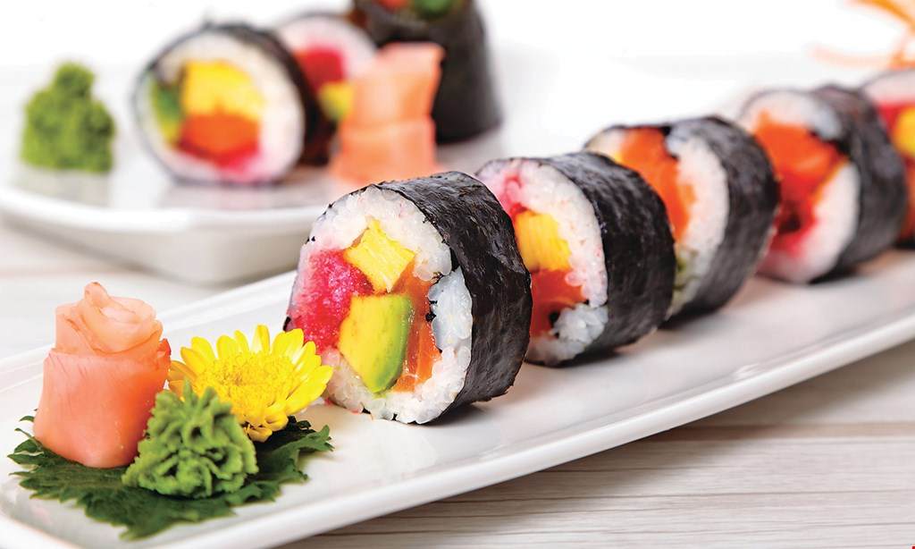 Product image for Wasabi Bistro Free California roll with $20 min. purchase.