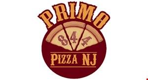 Primo 844 Pizza NJ logo