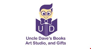 Product image for Uncle Dave's Books - Art Studio & Gifts $50 For Pottery Making Package For 2 (Reg. $100)