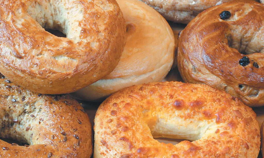 Product image for Bruegger's Bagels Free egg & cheese sandwich with any large beverage purchase.