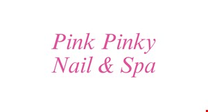 Product image for Pink Pinky Nail & Spa $5OFF any purchase of $30 or more
