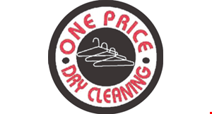 Product image for One Price Dry Clean $22 15 Shirts Laundry Service