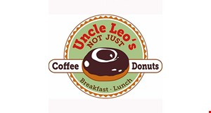 Uncle Leo's Coffee & Donuts logo