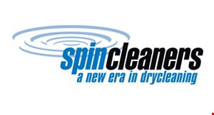 Product image for Spin Cleaners $15 For $30 Worth Of Dry Cleaning
