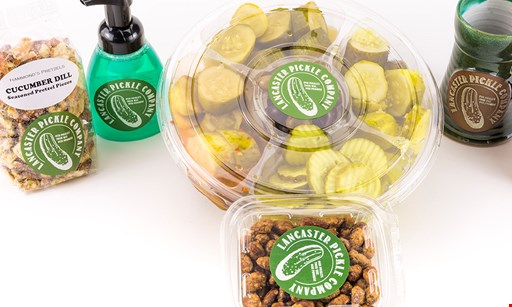Product image for Lancaster Pickle Company $5 Off any purchase of $25 or more.