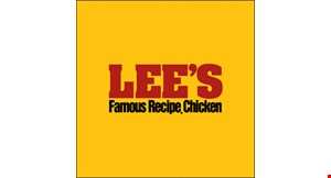 Product image for Lee's Famous Recipe Chicken Get a Famous Chicken Sandwich for only $1 With the purchase of a Famous Chicken sandwich combo meal.