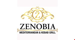 Product image for Zenobia Mediterranean & Kebab Grill $10 off any purchase of $60 or more