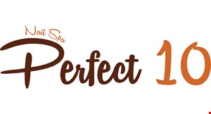 Perfect 10 Nail Spa logo