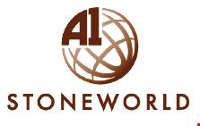 A 1 Stone World logo