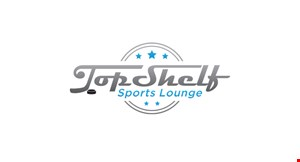 Product image for Top Shelf Sports Lounge $10 OFF any purchase of $50 or more.